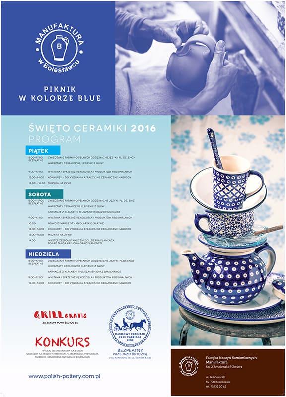 zaproszenie 2016 - Święto Ceramiki 2016